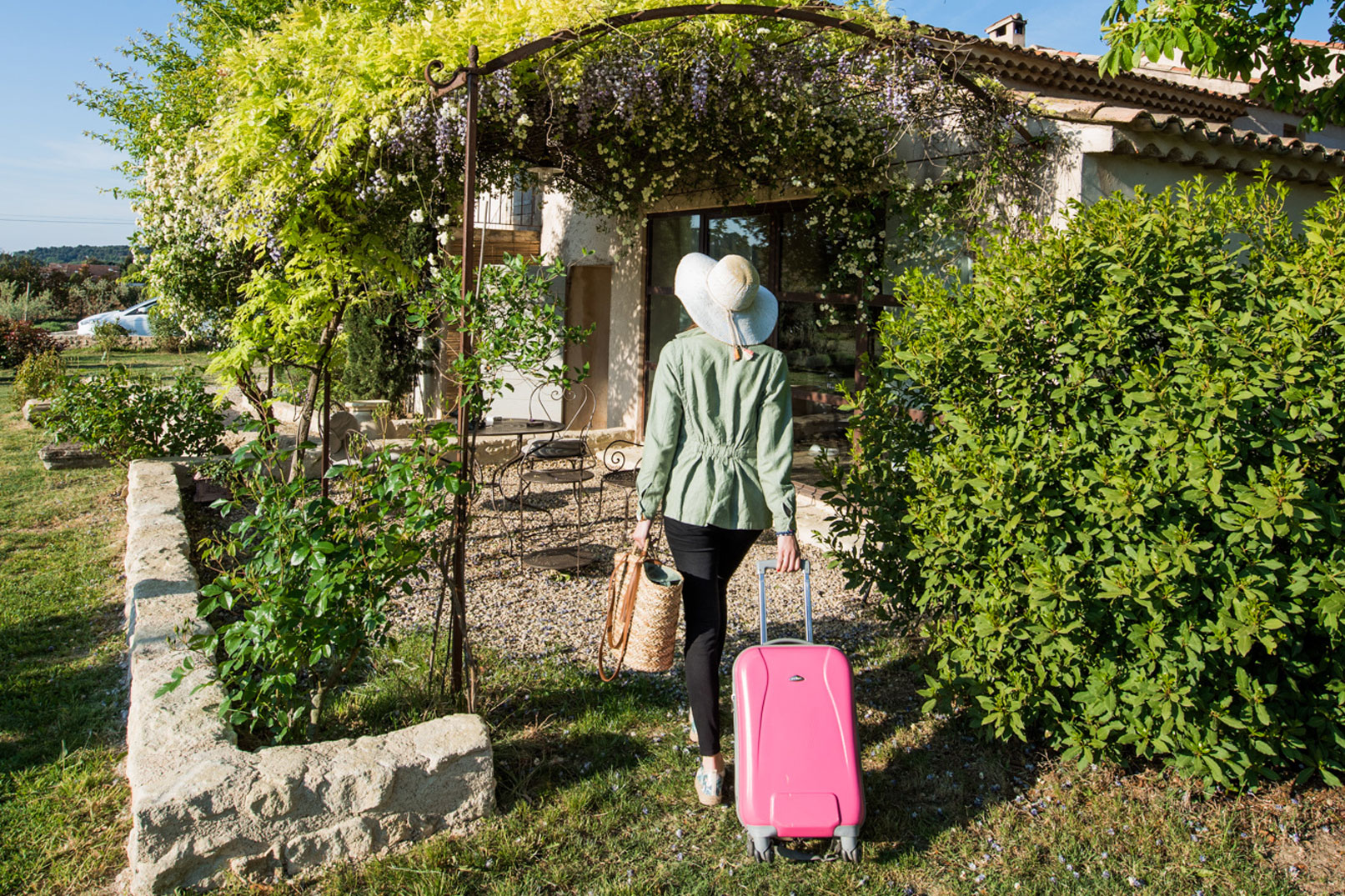 Accommodation in Vaucluse © Coquard