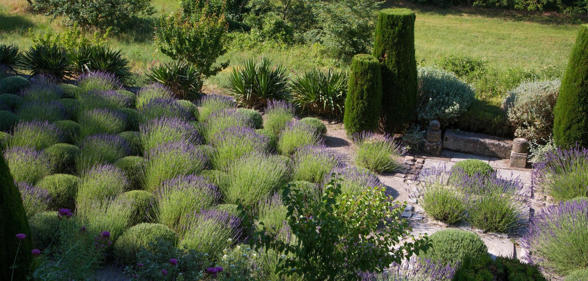 Louve Garden in Provence © Hocquel
