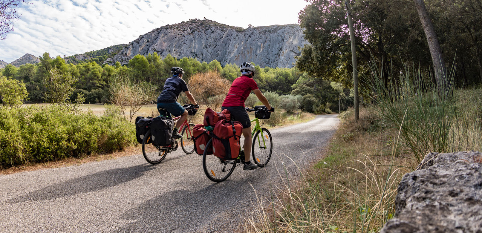 Leisure tourism in Vaucluse Provence © Rathay